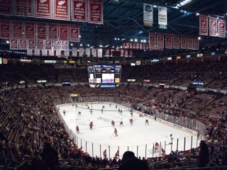 Joe Louis Arena Hocky